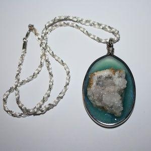 Handmade Geode Necklace